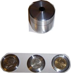 Check out this item in my Etsy shop https://www.etsy.com/listing/238277515/coin-ring-center-punch-kit-15-morgan