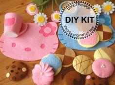 New-DIY felt toys Kit Package | fairyfox