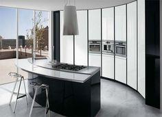 Résultats Google Recherche d'images correspondant à http://www.polopuentearanda.com/trendcrib//Black-and-White-Italy-Modern-Kitchen-design.jpg