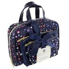 a8890730e829 Amazon.com   Adrienne Vittadini Women s Three Piece Cosmetic Bag Set    Beauty. Best Travel ...