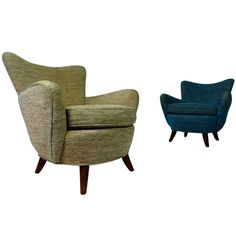 1stdibs - Pair Ernst Schwadron Lounge Chairs explore items from 1,700  global dealers at 1stdibs.com