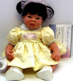 Lee Middleton Doll LOVE MAKES THE WORLD GO 'ROUND BABY VINYL DOLL Reva Schick