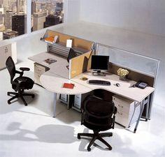 Büroarbeitsplatz chaos  iDivideWalls.com visit: www.idividewalls.com iDivide Walls are ...