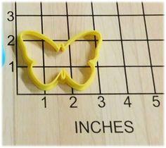 Butterfly Shape Fondant Cookie Cutter #1003 by DWRogersSales on Etsy
