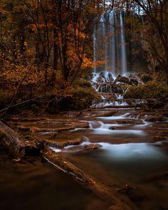 Fall colors at Falling Spring Falls near Covington VA. [OC][4000x5000] - Posted by: thatonerapist