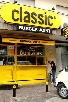 Classic Burger Joint / Branding on Branding Served