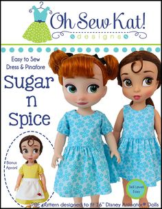Animator+Doll+Clothes+Sewing+Pattern+Disney+®+Animator+by+OhSewKat