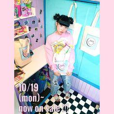 「_ _ ☺︎ RRR LOGO TOTE BAG ☺︎ 発売まであと2日!!!!!! ( 詳細はブログを見てね) ※ 明日ちょっと追加のお知らせがあります..♪ _ _」