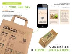 Custom-Designed Shopping Bags - Choose Your Package Can Be Printed with Ads or Nutritional Info (GALLERY)