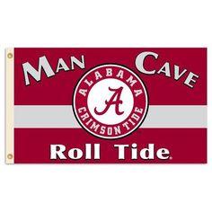 Alabama Crimson Tide Man Cave Premium 3' x 5' Flag W/Grommets