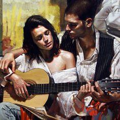 Diego Dayer, 1978 ~ Figurative painter | Tutt'Art@ | Pittura * Scultura * Poesia * Musica |