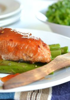 Sweet and Sour Salmon perfect for any night of the week!