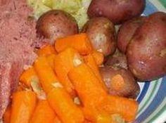 Boiled Dinner with Ham Hocks, Grandma's