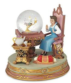 "Amazon.com: Beauty and the Beast Princess Belle Snowglobe ""Be our Guest"": Everything Else"