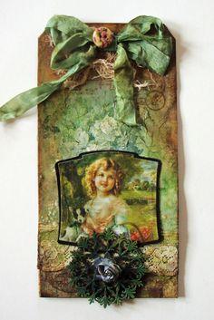 Astrids Artistic Efforts: Rhapsody in Green