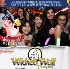 Bacon and Beer Bar Crawl This July 4th, join the Bar Crawl full of BACON and BEER! July 4, 2015