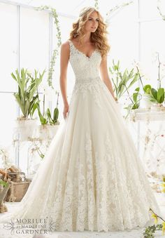 Mori Lee 2821 $1,465 - Debra's Bridal Shop at The Avenues 9365 Philips Highway Jacksonville, FL 32256 (904) 519-9900