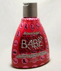 2010 Tan Incorporated Brown Sugar Babe Hot Tanning Lotion 8 oz. by Tan Incorporated. $20.00. Hot Tingle Level 6. Brown Sugar Bronzers 50 Biotanning Complex CoQ10 Complex Hot Tingle Level 6 Skin Firming Complex Monoi de Tahiti Acai Berry Extract DHA level Light THC-Free Hemp Seed Oil Performance Silicones  Fragrance: Hawaiian Ginger, Vanilla Sunset