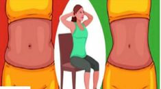 Chair Exercises: 5 Steps To Reduce Belly Fat (Video)