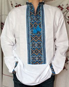Tea towels ware and linens on pinterest for Mens dress shirt monogram location