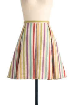 New Vintage style Eva Franco Here in My Carnival Skirt | Mod Retro Vintage Skirts | ModCloth.com