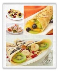recetas de desayunos. Crepes