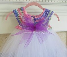 Ravelry: Empire Waist Crochet Tutu Dress by Patricia Klonoski