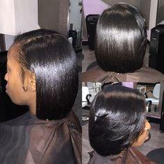 silk press natural hair at home - Google Search