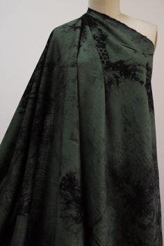 Greening Rayon Linen Woven