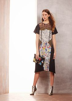 Modest BCBG Max Azria pre-fall 2015 dress | Mode-sty #nolayering