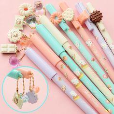 1pc Girls Series Gel Pen Cute Korean Pens Stationery Kawaii Pen Gel Ink Pen