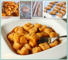 Sweet Potato Gnocchi - Easy, Low Fat, Delicious, Simple... don't think I need any more words lol :)