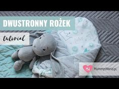 Jak uszyć dwustronny rożek dla niemowlaka? Sprawdź tutorial! Dinosaur Stuffed Animal, Make It Yourself, Sewing, Youtube, Animals, Instagram, Dressmaking, Animales, Couture