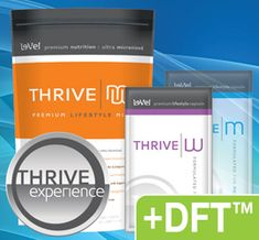 Thrive Premium Lifestyle Pack plus DFT. The 8-week experience to peak performance. See it all at https://survive2thrive.le-vel.com.