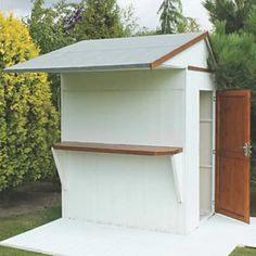 Shire 6 x 4 Garden Bar and Store Diy Garden Bar, Garden Ideas, Garden Design, House Design, Garden Structures, Outdoor Structures, Large Bbq, Courtyards, Home