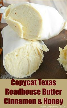 Copycat Texas Roadhouse Butter- Whipped Cinnamon Honey Butter, this flavored butter will take your bread to the next level! Super easy with 2 ingredients and 5 minutes! Spread it on everything! www.savoryexperiments.com