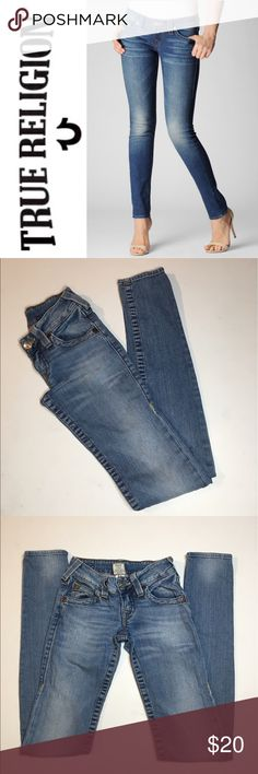 "True Religion Skinny Jeans ✔️Light Wash Skinny Jeans ✔️Inseam: 33"" ✔️98% Cotton/2% Spandex ✔️No Holes, Stains or Damages True Religion Jeans Skinny"