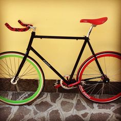 My first fixed bike
