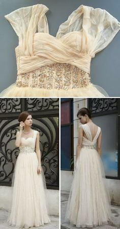 beautiful dress | wedding
