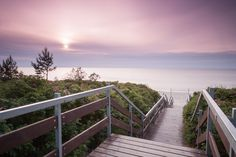 Descent to the beach during sunset by Daniel Ciesielski on 500px