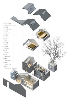 bwao studio unveils its latest hutong renovation project for a studio living space in beijing