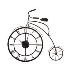 Penny Farthing Wall Clock | dotandbo.com