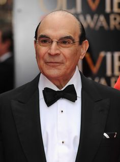 David Suchet Photos - David Suchet attends The Laurence Olivier Awards at the Royal Opera House on April 2013 in London, England. - The Laurence Olivier Awards - Red Carpet Arrivals Agatha Christie's Poirot, Hercule Poirot, British Actors, American Actors, Rosalind Russell, Sepia Color, David Suchet, Ziegfeld Girls, Loretta Young