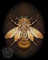 Another steampunk bee