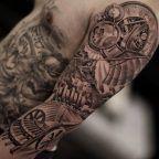 Da Vinci inspired sleeve by Jun Cha
