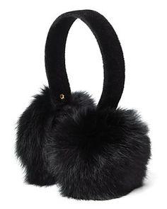 Rabbit earmuffs via @bloomindales $48