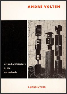 André Volten (Art and Architecture in the Netherlands series). Post-war Dutch constructivist sculptor. Illustrated. Illustrated. (26222) by ArtPaperEtc on Etsy