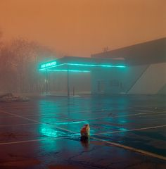 Moody Colors Night photo by © Justin Broadway; reminds me of Todd Hido photography Urban Photography, Night Photography, Street Photography, Photography Tips, Photography Studios, Contrast Photography, Scenic Photography, Aerial Photography, Artistic Photography