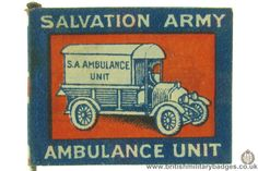 Salvation Army. WW1 Fundraising Flag Day