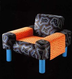 George Sowden, Oberoi Armchair, for Memphis, 1981